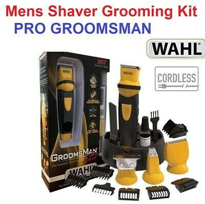 NEW WAHL CORDLESS Pro Sport Beard Body Shaver Hair Clipper Trimmer Mens Groomer