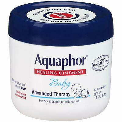 Aquaphor Baby Advanced Therapy Healing Ointment Skin Protectant 14oz Jar