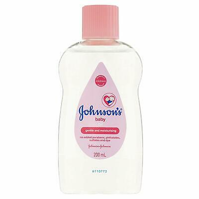Johnson's Baby Oil 200ml Massage For A Silky Soft Skin Dermatologist tested