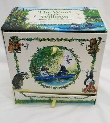 The wind in the willows classic story collection 20 hard back book set, used