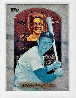 1999 Topps Hall of Fame Collection Baseball #HOF3 STAN MUSIAL St Louis Cardinals