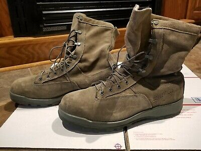 5181f7bb2e4 BELLEVILLE 675 ST USAF Cold Weather Steel Toe Insulated Boots Sage Green 11  R