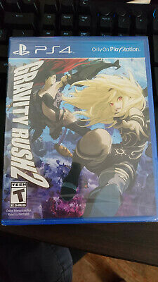 gravity rush 2 sony playstation 4 ps4 new