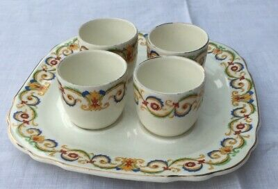 Grindley Tunstall Set of 4 Egg Cups and Stand