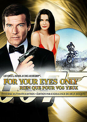 For Your Eyes Only (DVD, 2008, 2-Disc Set, Movie Money Checkpoint Sensormatic Wi