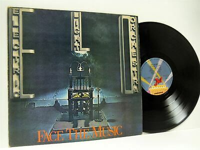 ELECTRIC LIGHT ORCHESTRA (ELO) face the music (1st uk press) LP EX-/VG JETLP 11