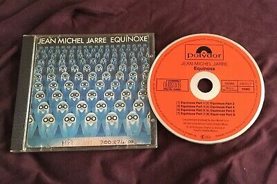 Jean Michel Jarre Cd Equinoxe Polydor Red Original Smooth Sided Case