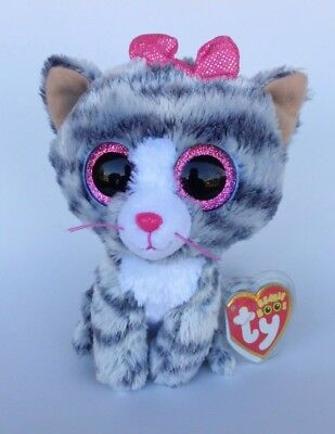 f9f819fa4ab WILLOW THE CUTE Cat - Justice Exclusive - Ty Beanie Boo Rare ...