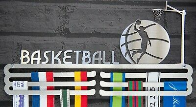 Basketball Medal Hanger Display Triple Tier Stainless Steel