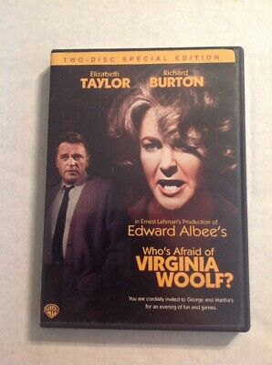 Whos Afraid of Virginia Woolf (DVD,2006,2-Disc Set, Special Edition)Authentic US