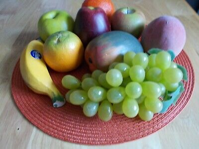 Collection Of Artificial Fruit