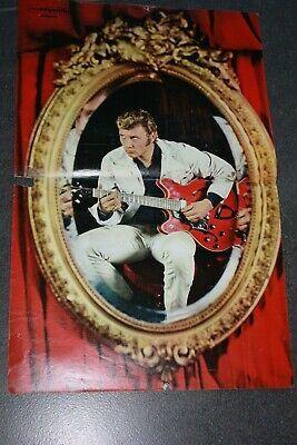 johnny hallyday   poster 2 pages