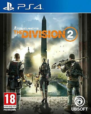 Brand New Tom Clancy's The Division 2 Computer Video Game PS4 Playstation 4