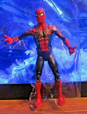 Marvel Legends 2018 IRON SPIDER-MAN FIGURE Loose Thanos Wave Avengers 3 Spider