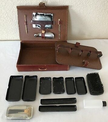 VTG Eversharp Hydro-Magic Shaving Razor W Leather Case SWANK Grooming Toiletry