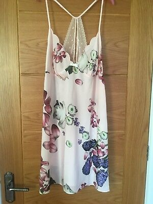 d16d4f2b7 B BY TED Baker - floral print  Citrus Bloom  dressing gown Size 12 ...