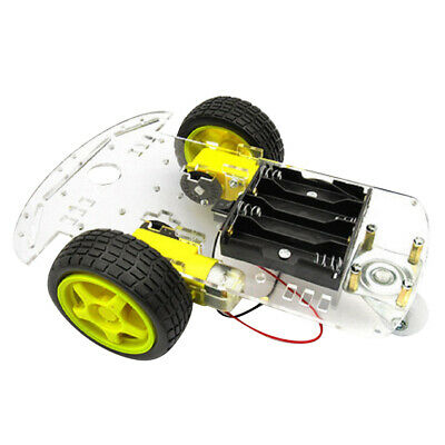 2WD Smart Motor Robot Car Chassis Battery Box Kits Speed Encoder for Arduino