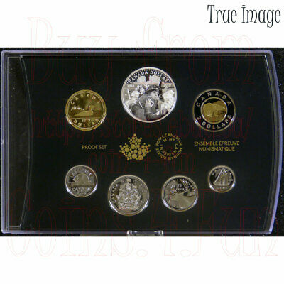 1944-2019 75th Anniversary of D-Day Juno Beach Special Edition 7-coin Proof Set
