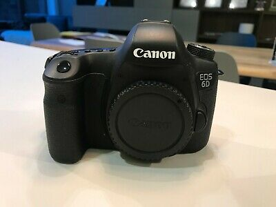 Canon EOS 6D 20.2MP Digital SLR Camera - Body only *SHUTTER COUNT 308*