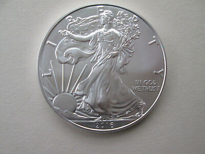 2016 American Silver Eagle BU 1 oz. Coin US $1 Dollar Uncirculated Brilliant