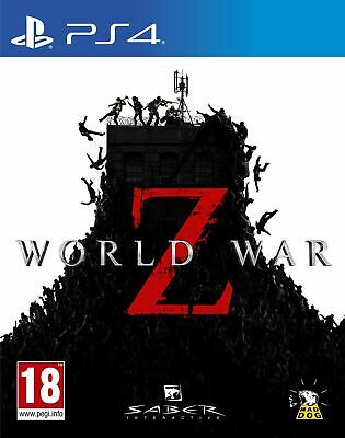World War Z (PS4) Brand New & Sealed Free UK P&P UK PAL