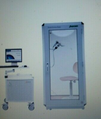 JAEGER Master Screen Body Plethysmograph with computer and JLab software