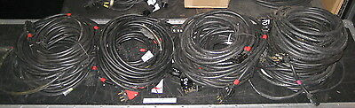 25ft 12/3 AWG 20A Bates Stage Pin Wire Cable SO SOW SOOW 25'