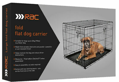 RAC dog crate cage 75 x 54 x 47  new