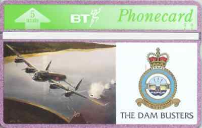 BTG084  617 Dambuster Squadron - Mohne Dam  Collectable Phonecard