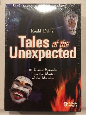 Tales of the Unexpected - Set 1 (DVD, 2004, 4-Disc Set)