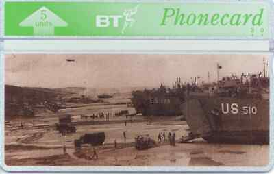 """BTG267 D-Day Landings - """"Omaha"""" -  Collectable Phonecard"""