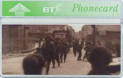 """BTG265 D-Day Landings - """"Gold"""" -  Collectable Phonecard"""