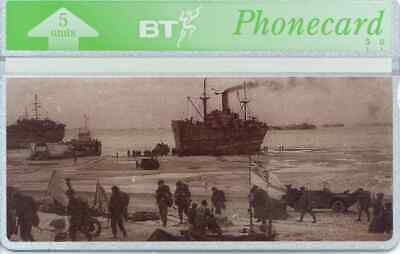 """BTG266 D-Day Landings - """"Juno"""" -  Collectable Phonecard"""