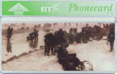 """BTG268 D-Day Landings - """"S"""" -  Collectable Phonecard"""
