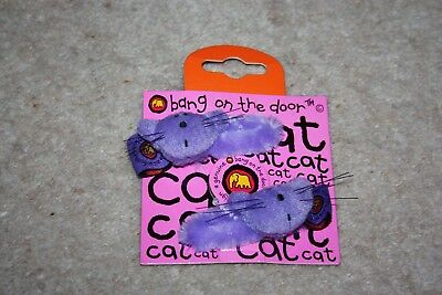 Bang On The Door: NEW Purple Cat Hair clips!