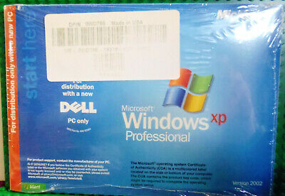 Dell Windows XP Professional Service Pack 2 Reinstallation CD SP2 New Sealed