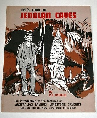 Let's Look at Jenolan Caves 1977 paperback by C.C. Byfield ISBN 0909214034