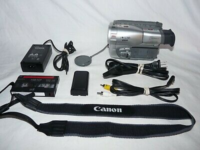 Canon ES50 ES50A 8mm Video8 Camcorder Camera VCR Player Video Transfer