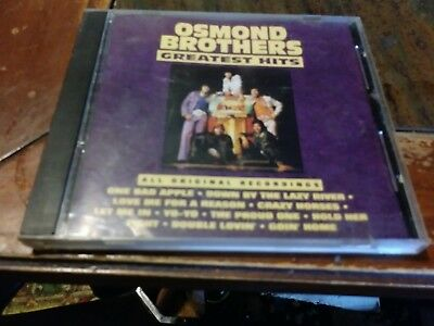 Osmond brothers greatest hits cd