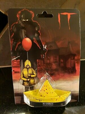 SDCC 2018 Stephen King/'s IT Blood Diecast Boat SS Georgie