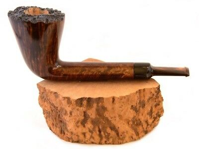 Tobacco pipe briar wood for smoking Freehand Straight Grain Gift For Smoker Man