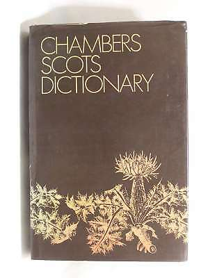 Chambers Scots Dictionary, Alexander; Grant, William Warrack, Good Book