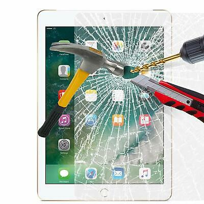 Tempered Glass LCD Screen Protector For Apple iPad 9.7 2017, 2018 iPad Air 1, 2