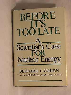 Before it's Too Late, B.L. Cohen, Excellent Book