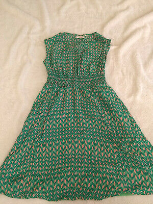 6af49cd099267 ANTHROPOLOGIE MAEVE GREEN pink xs dress - $14.99 | PicClick