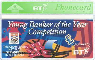 BTI067 Young Banker Of The Year Competition Phonecard. Cat £200
