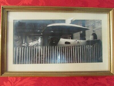 RARE SPIRIT of St LOUIS PHOTOGRAPH WITH CHARLES LINDBERGH AUTOGRAPH