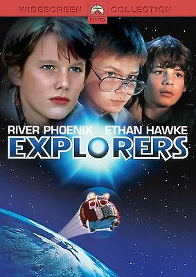 EXPLORERS 1985 - River Phoenix, Ethan Hawke, Bobby Fite NEW  ALL REG DVD