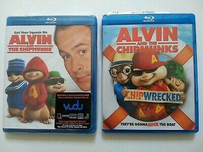 Alvin & The Chipmunks + Chipwrecked Blu-rays