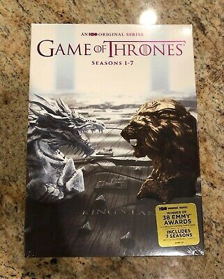 Game Of Thrones Dvd Boxed Set: Complete Seasons 1-7, 34 Discs *brand New*